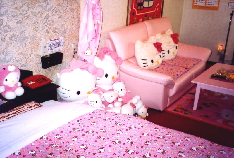 Hello Kitty Hotel In Tokyo. Hello Kitty-Themed Love Hotel